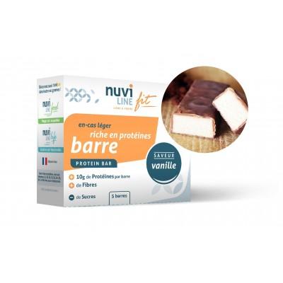 Barre vanille riche en protéine