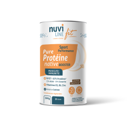 Protéine native whey booster saveur chocolat nuviline