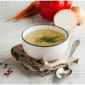 Bouillon de collagène marin aux légumes et curcuma