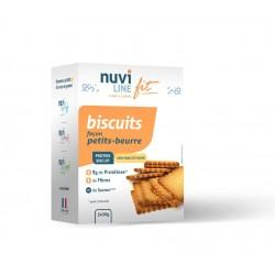 biscuits petits-beurre protéinés et réduits en sucres - ligne et forme
