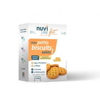 biscuits salés et protéinés pour l'apéritif et collations - sans gluten - nuviline