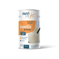 Boisson protéinée saveur vanille