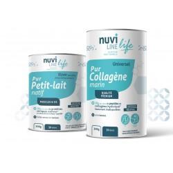 Collagène marin, protéine de lactosérum natives, protection et immunité