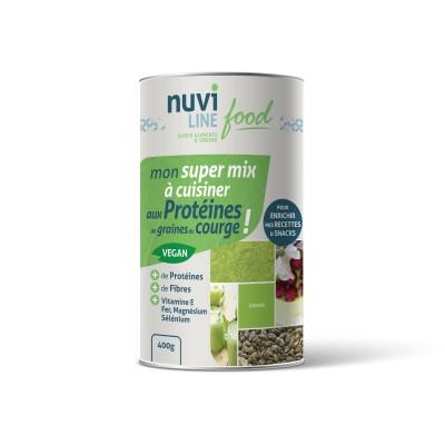 Mon super mix à cuisiner aux protéines de graines de courge !