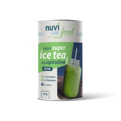 Mon super ice tea à la spiruline !