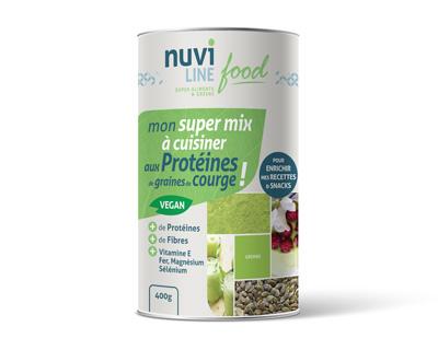 Protéines végétales graines de courges