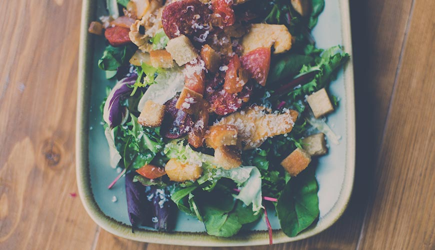 Menu vegan, manger équilibré