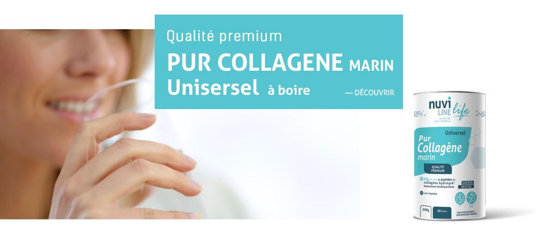 Collagène marin pur univsersel nuviline