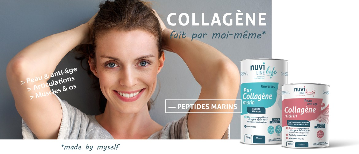 collagene marin hydrolysé peptides peau articulations muscles os nuviline