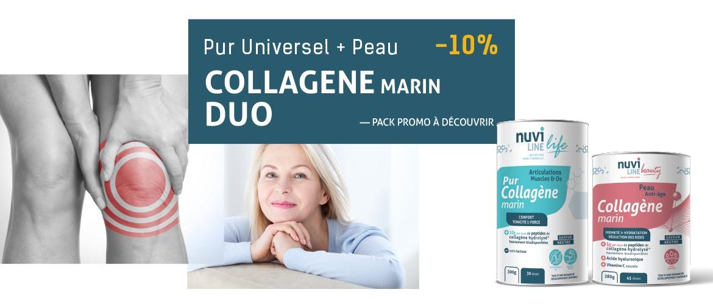 Promo duo collagène marin Pur et Peau Nuviline